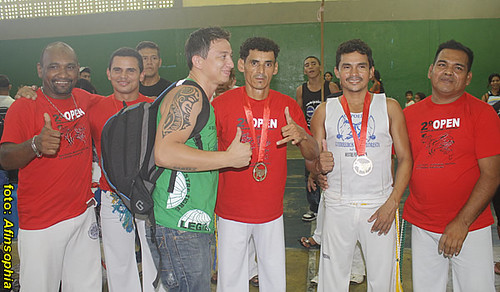 Capoeira 2º Open 18 por você.