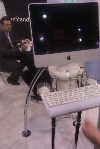 iMac workstation