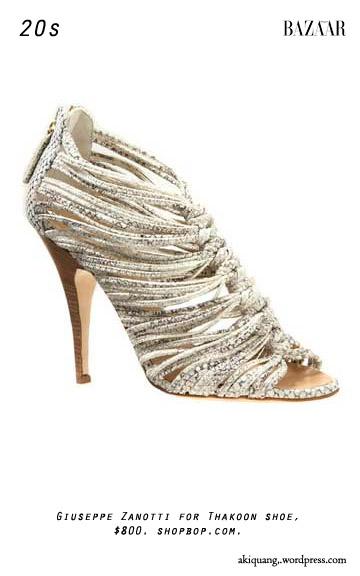 Giuseppe Zanotti for Thakoon shoe, $800. shopbop.com.
