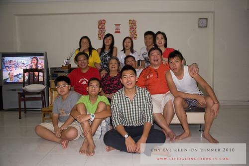 CNY Reunion Dinner 2010 #28