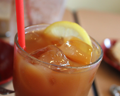 Iced Lemon Tea at Ya Kun Kaya Toast