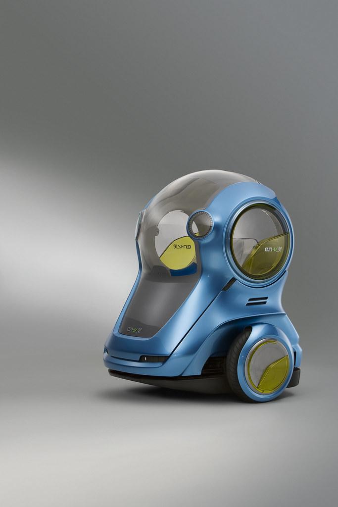 Se inspira en el prototipo de P.U.M.A. (Movilidad y Accesibilidad Urbana Personal)