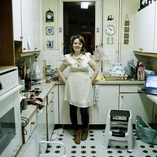 Imogen dans la cuisine 2