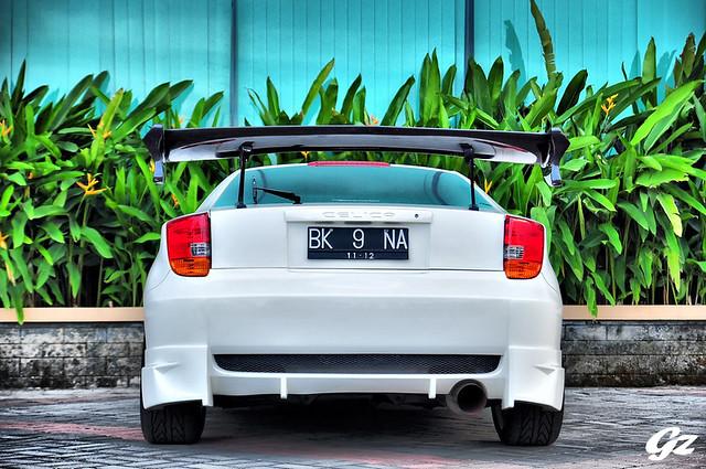 White Celica