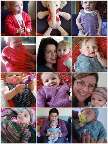 A year of Baby Knits