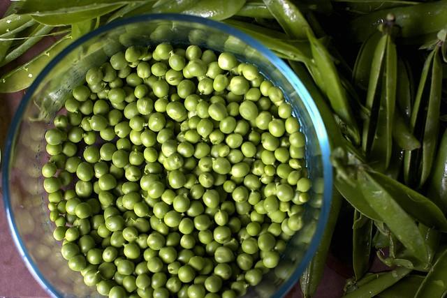 many peas