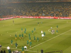 Fans, Stadium and team as Bafana take on Uruguay by Shine 2010 -  2010 World Cup good news