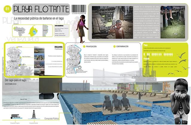 L1 Playa Flotante, La necesidad pública de bañarse en el lago
