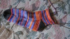 e sock wip 2 (by dyedinthewool)