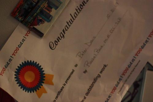 Peter's certificate