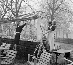 Voorjaarsschoonmaak in het Vondelpark / Spring cleaning in the Vondelpark