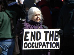 Protest against the wars in Iraq and Afghanistan