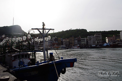 野柳小漁村。