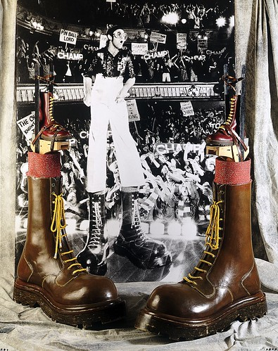 "Elton John's Boots from ""Tommy"" by Northampton Museum"