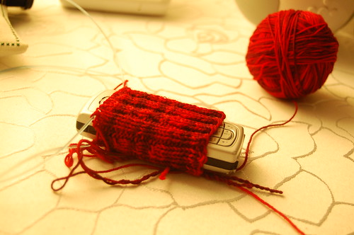 iPhone cozy in progress