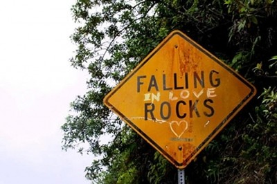 Falling in love rocks love