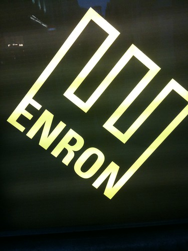 Enron the play, St Martin's Lane, London