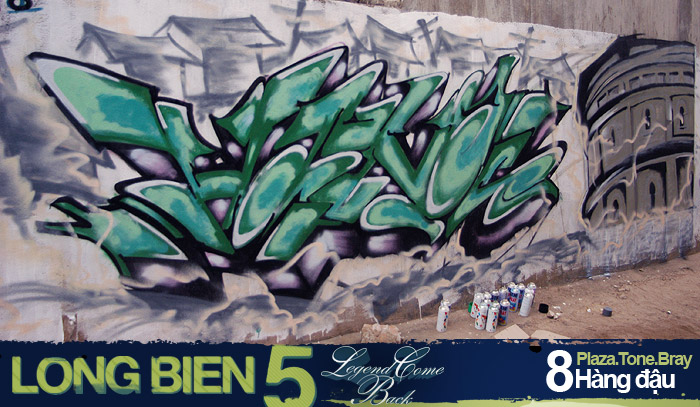 Long Biên 5 Graffiti Battle 7