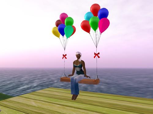 Balloon Swing!
