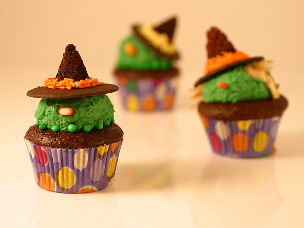 Wicked Witch Cupcakes From Food Network