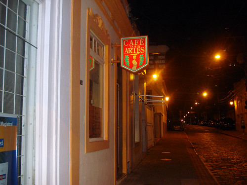 Fachada @ Café das Artes