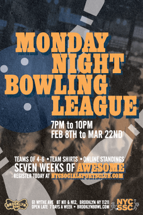 Monday Night Bowling League