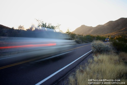 Fast Motion : South Mountain / Phoenix, AZ