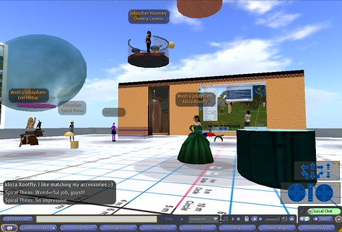 SL building session on skybox
