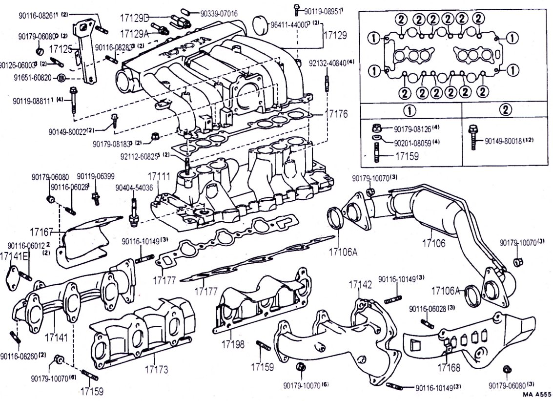 Toyota 22re Engine Kit