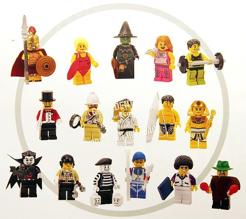 Collectible Minifig Series