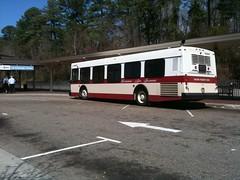 Bus at WATA Station