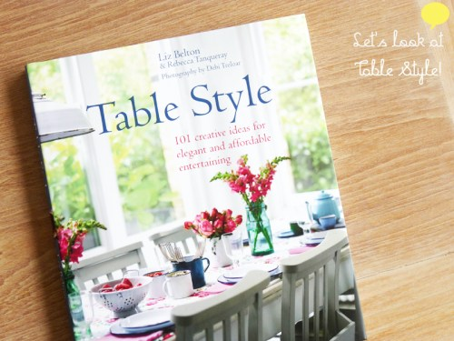 Table Style: Book Review