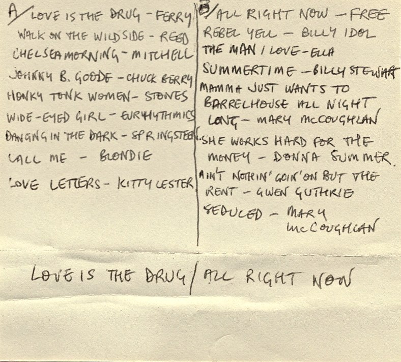 Love is the Drug/ All Right Now 2nd version