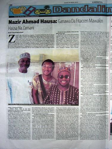 """""""Nazir Ahmad Hausawa: Ganawa da Fitaccen Mawak'in Hausa na Zamani"""""""