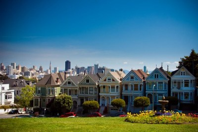 Painted Ladies on Alamo Square (by RayPG 2.0)