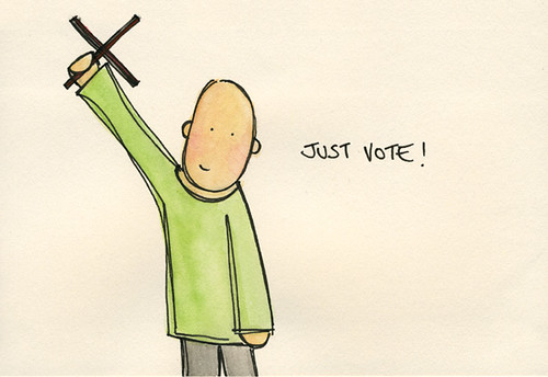 just vote by you.