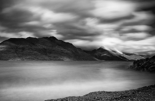 Black and White long exposure
