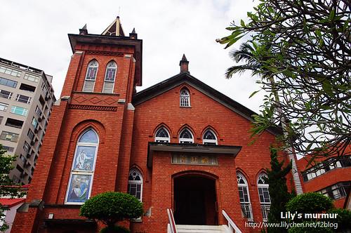 淡水長老教會禮拜堂。