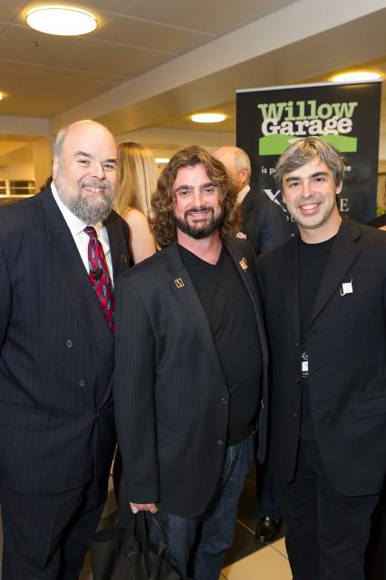 Robert Weiss, Harry Kloor, Larry Page