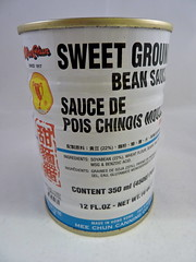 Sweet ground bean paste