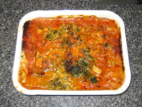 Marie Callender's Chicken, Spinach and Mushroom Lasagna Multi-Serve Bakes Tray