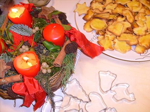 Petits fours de Noël au beurre / Christmas butter biscuits