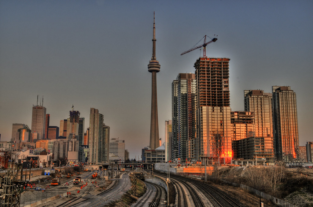 Toronto under construction