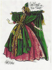 "Carol Burnett's ""Went with the Wind"" costume"