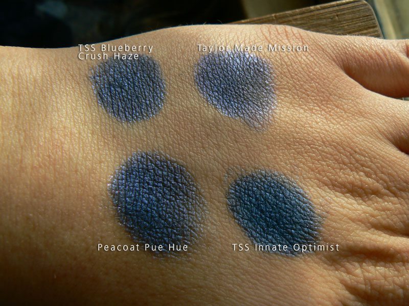 TheSheSpace/Taylor Made/Pure Hue comparison swatches, v. 4
