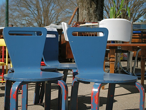 vintage Thonet kids chairs