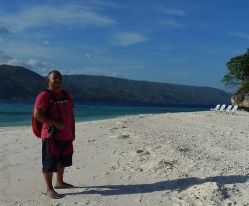 Melo Villareal in Sumilon Island