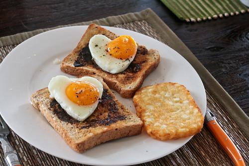 ? I made my husband breakfast.?