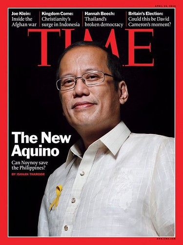 Noynoy Aquino in Time magazine