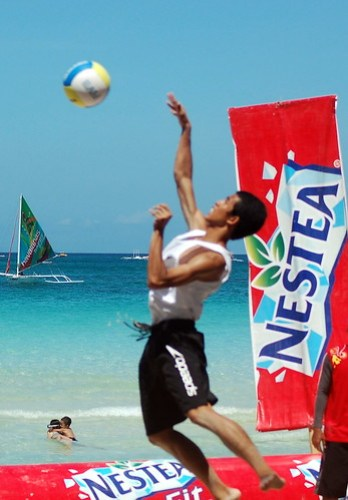 Nestea Fit Camp Hot Day 2 - Beach Sports Photography (45)